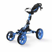 8.0 Golf Trolley - Blue: CLICGEAR MODEL 8The Clicgear Model 8.0 is very unique. Thedesign started with… #UKGolfEquipment #GolfAccessories