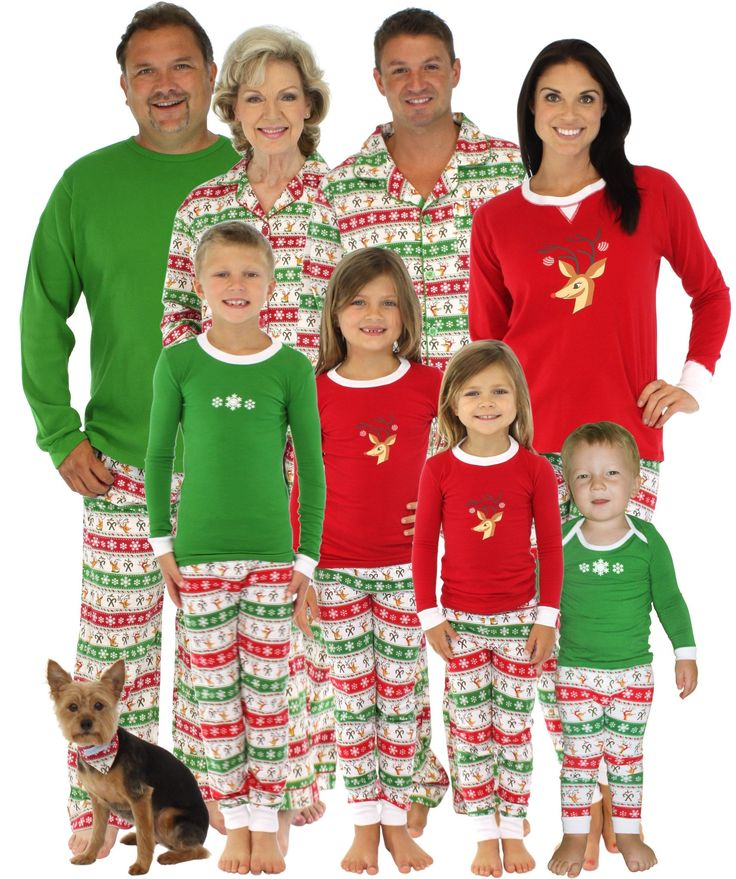 Image Result For Matching Christmas Pjs For The Whole Family Uk