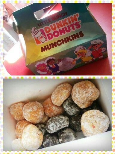 Dunkin donut munchkins | Ohh ohh Tiramisu♥ | Pinterest ...