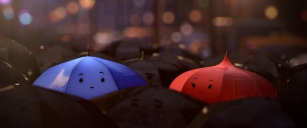 The Amazing Pixar Short The Blue Umbrella.