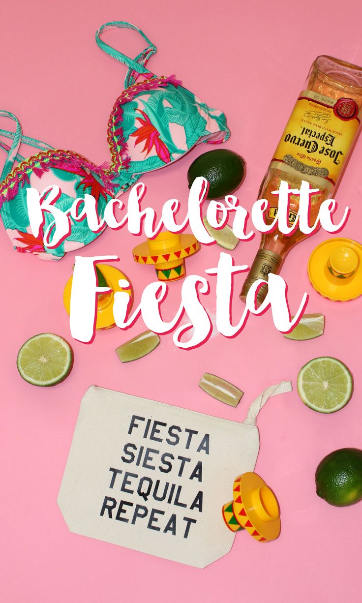 How to throw a fiesta-themed bachelorette party!