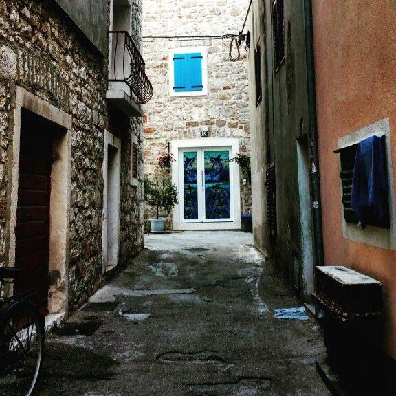 Croatia, Street, architecture