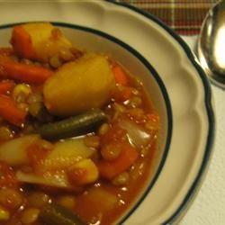 tastycookery | Argentine Lentil Stew