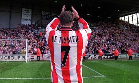 Le Tissier Salutes The Fans