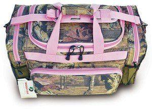 "$28 Mossy Oak Pink Camouflage Duffle Bag 20"" Luggage Set:Amazon:Sports & Outdoors"