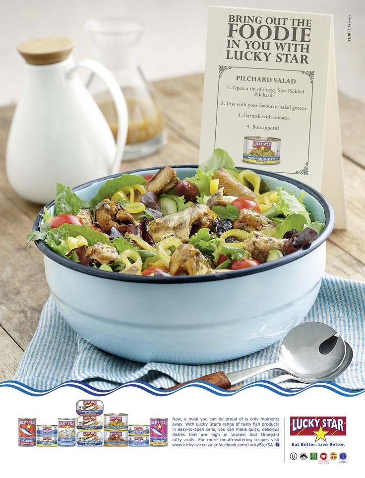 Enjoy this quick and tasty Pilchard Salad