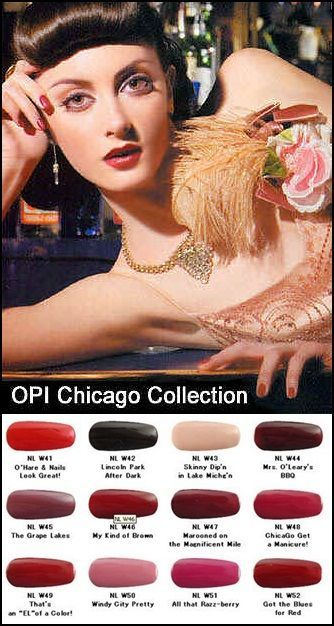 The OPI Chicago Collection is an old OPI collection, but some of the colors are still being...