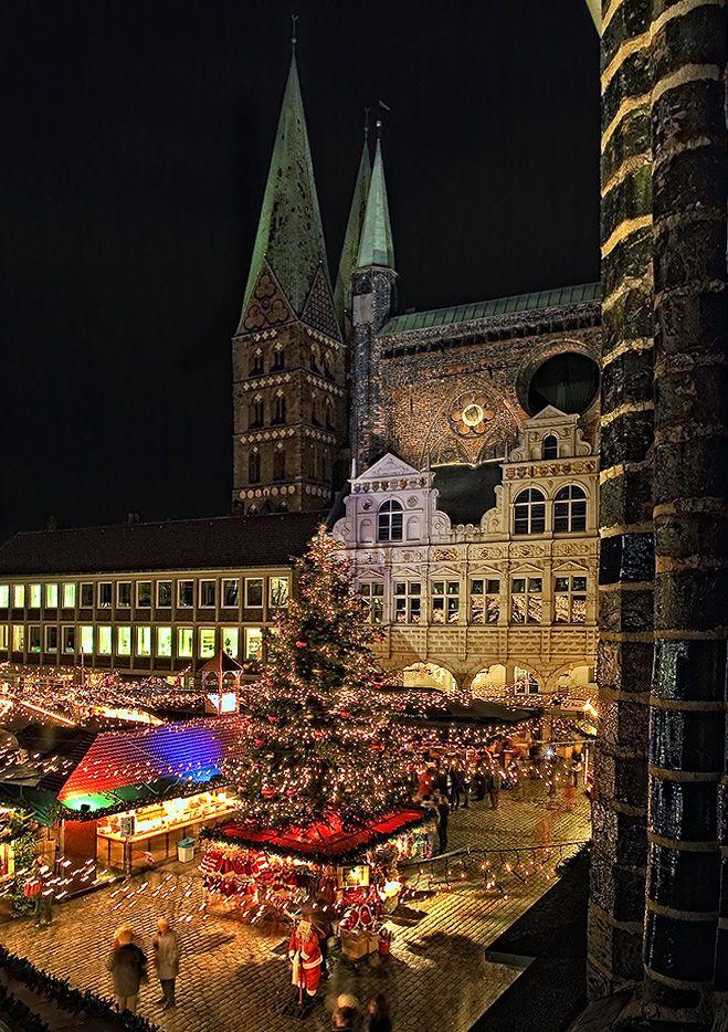 Weihnachtsmarkt in Lübeck - Bild & Foto von Beate Zoellner aus Weihnachtskarten - Germany