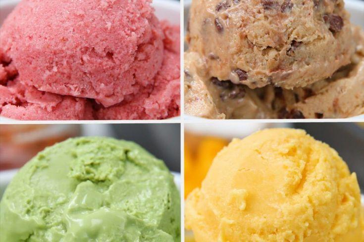 Ζάχαρη στο παγωτό;;; Τελείως ξεπερασμένο! Δείτε αυτές τις τέσσερις υγιεινές και πολύ εύκολες συνταγές για παγωτό Δείτε το video και σημειώστε τι πρέπει να προμηθευτείτε για να ετοιμάσετε τις συνταγές 4 – 6 μερίδες ανά συνταγή ΦΡΑΟΥΛΑ ΜΠΑΝΑΝΑ Τι θα …