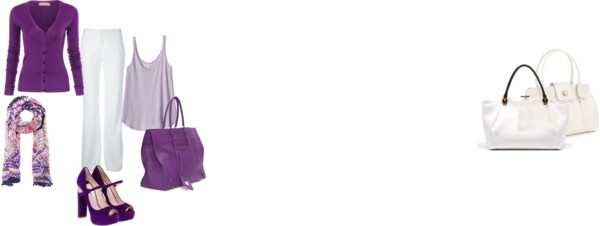 """""""purple casual"""" by almdea on Polyvore"""