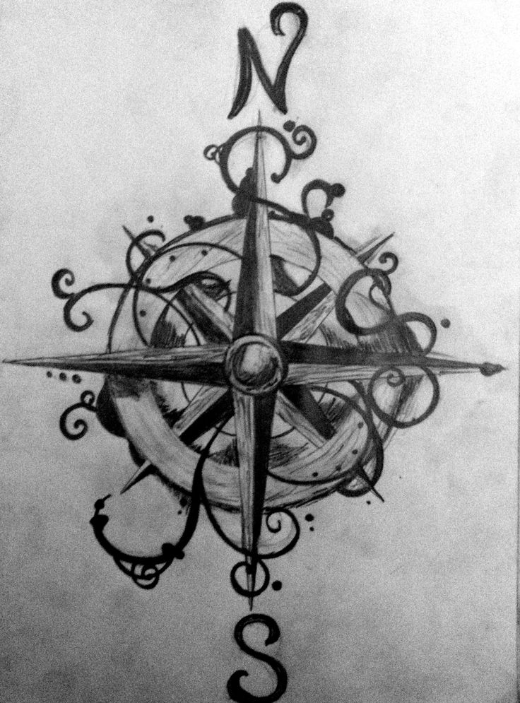40 best compass tattoo images on pinterest compass tattoo weather vanes and blacksmithing. Black Bedroom Furniture Sets. Home Design Ideas