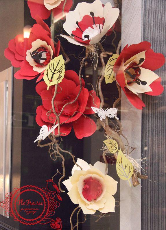 украшение витрины оформление декор дизайн кемерово витринистика день валентина кемерово www.flofra.ru.jpg 6