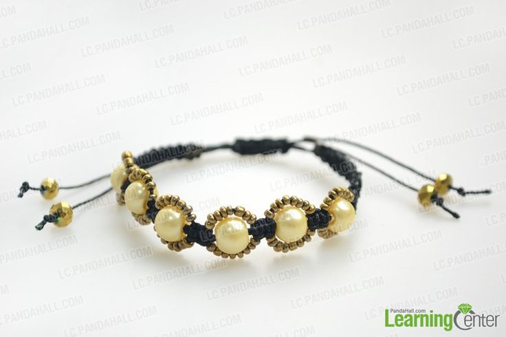 How to make hemp bracelets with beads; in this tutorial, you will learn to make a beaded hemp bracelet within popular shamballa style. Lend color and ornamental flair to your hemp bracelet by adding some stunning beads.