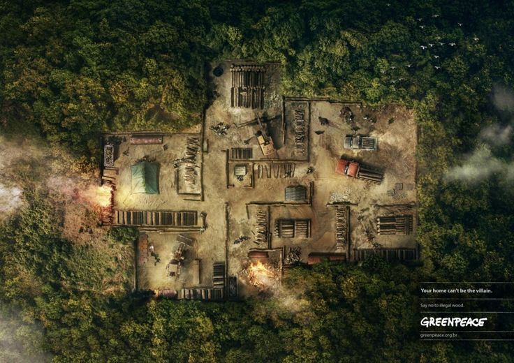 """Atlantic Forest"" by DDB Brasil for Greenpeace"