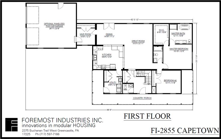 the new fi 2855 capetown model home brought to you by foremost