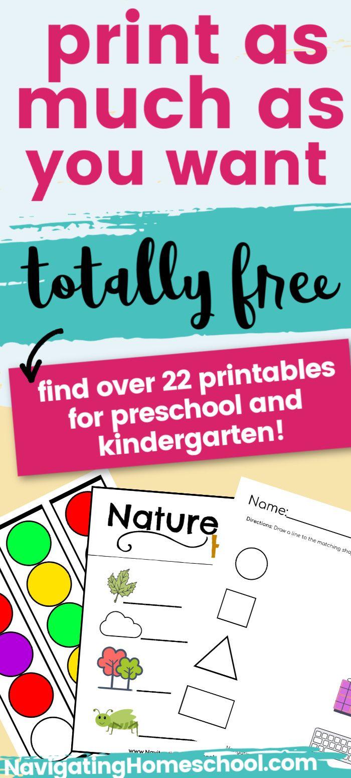Free Preschool And Kindergarten Printables Print As Much As You Want Free Preschool Free Preschool Printables Kindergarten Printables [ 1550 x 700 Pixel ]