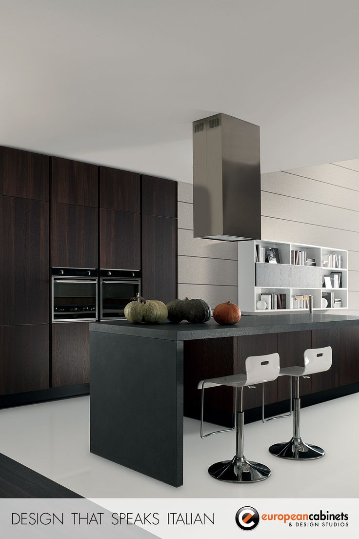 Modern Kitchen Cabinets Custom Design And Installation. Brand Name Italian  Kitchens From Aran Cucine And Rastelli Cucine Customized For Your Home. Dark  Wood ...
