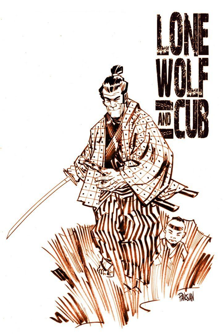 urban barbarian: lone wolf and cub