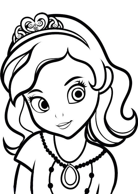60 Disegni Di Sofia La Principessa Da Colorare Pagine Da