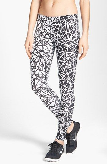 cool running tights - Nike 'Leg-A-See' Print Tights   Nordstrom