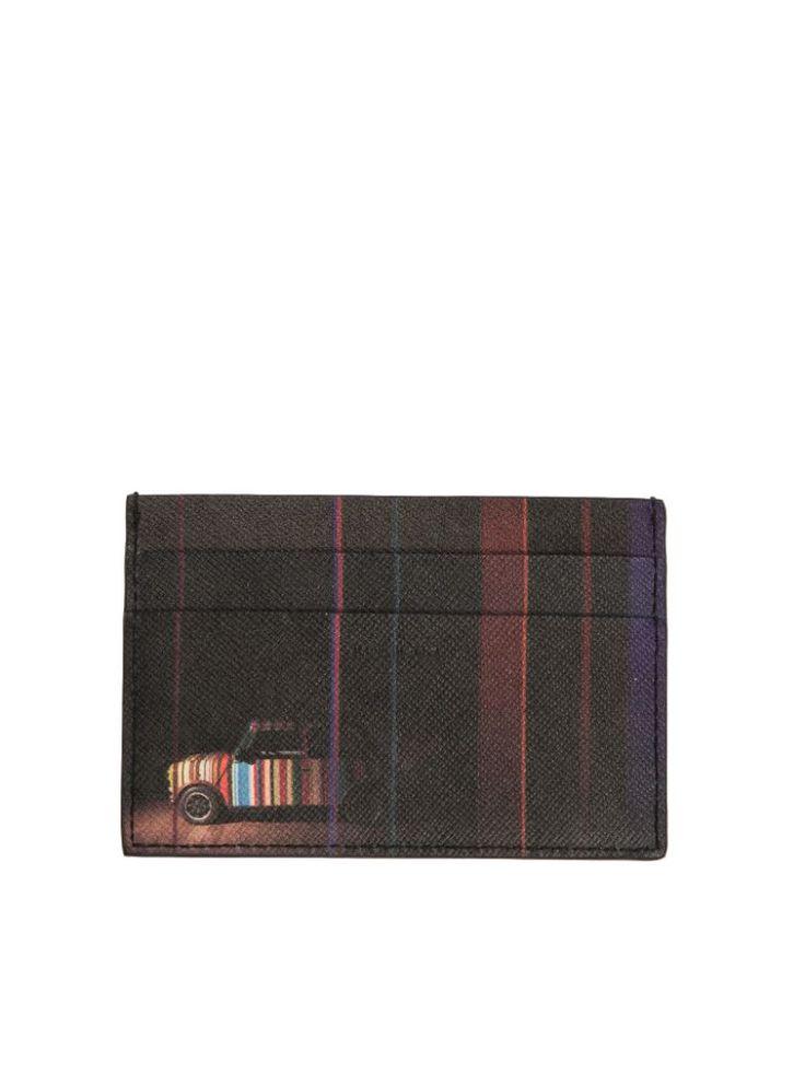 PAUL SMITH Paul Smith Leather Card Holder. #paulsmith #