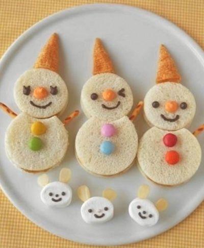 Hebben je kinderen op school een kerstdiner of -ontbijt? Maak dan heel gemakkelijk met je kinderen de onderstaande hapjes. Ze zijn niet ingewikkeld, maar wel verrassend!
