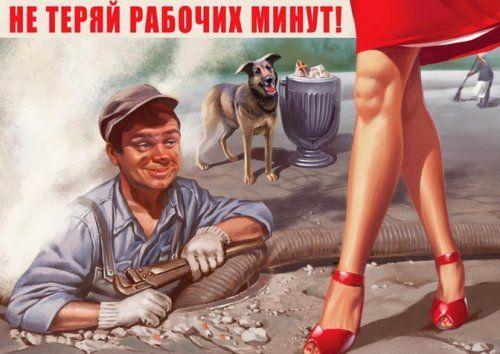 Пинап-пропаганда Валерия Барыкина (15 фото)