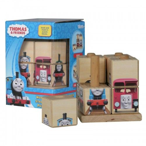 Stack and match eight puzzle blocks to complete 16 different colourful images of Thomas and his friends.