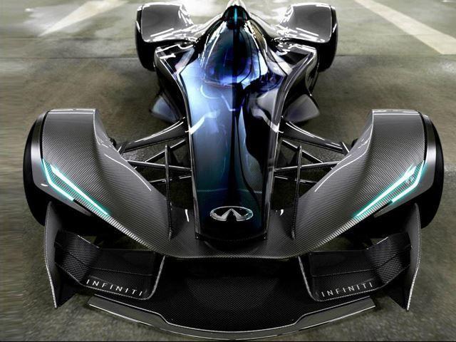 Cars - Infinity futuristic race car. [Futuristic Cars: futuristicnews.co...]