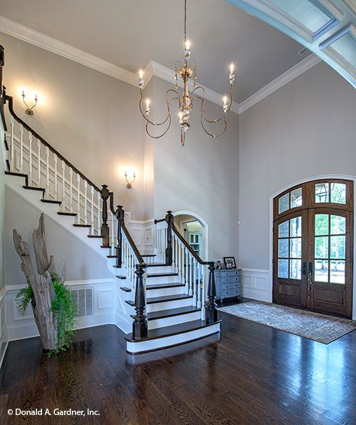 Foyer Light 2 Story: Beautiful Two Story Foyer Of The Carrera #1178. Http://www