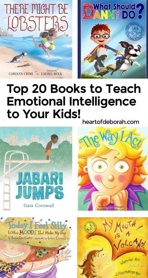 The BEST 20 Kid's Books to Teach Vital Social Emotional Skills