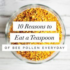 Bee pollen is an incredibly nutrient dense bee product, containing nearly all the nutrients required by humans to survive which is why it has a reputation as a holistic remedy and superfood. Best o…