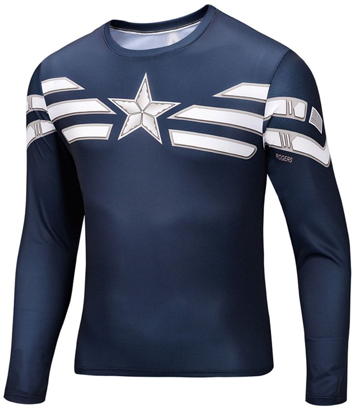 3d T Shirt Animal Tshirt Shirts Mens Long sleeve Fashion 2015 Print O-neck Captain America Superman Star Wars Skateboard #Affiliate