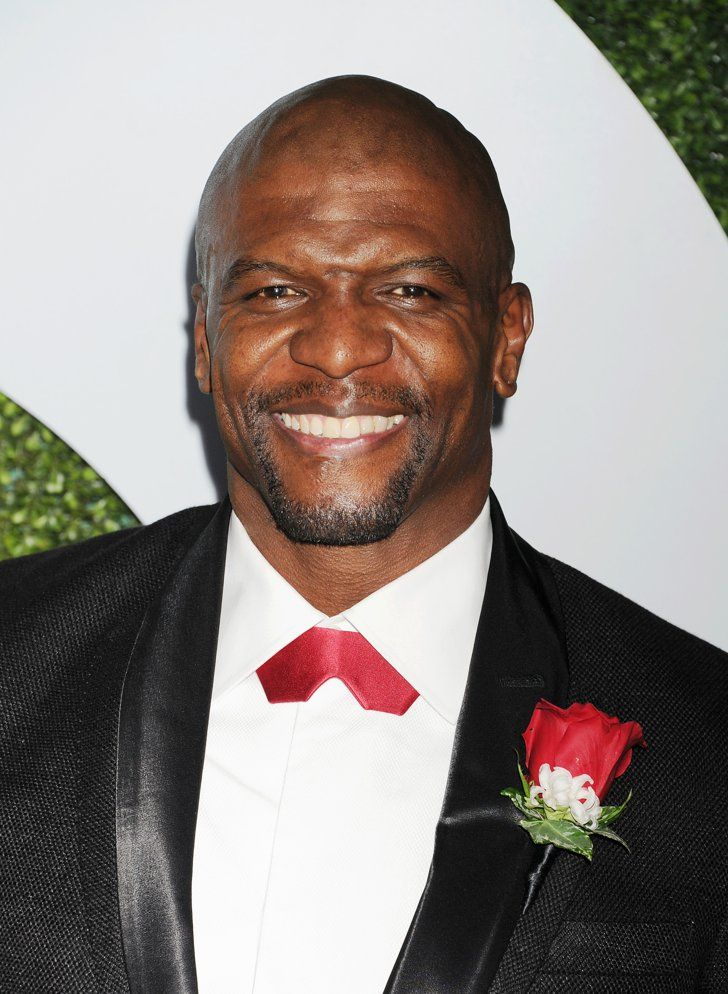 Pin for Later: Terry Crews Wants Your Man to Use a Loofah on Date Night Suit up.