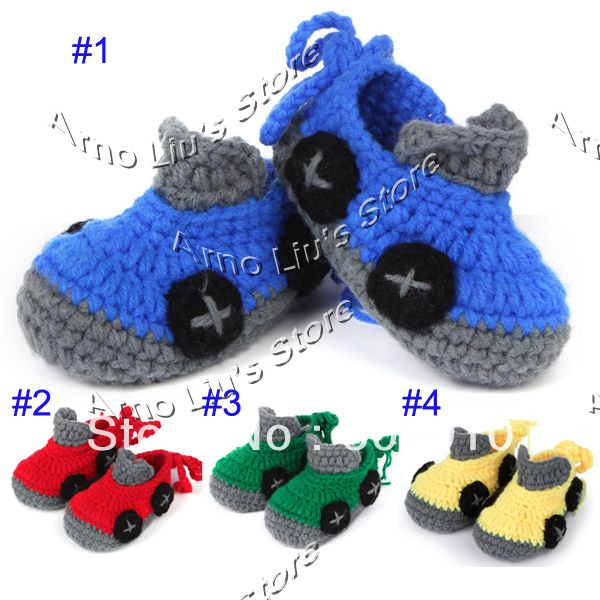 Buy Crochet Patterns Online | Free shipping Crochet Pattern Baby Shoes Booties Newborn Infant First ...