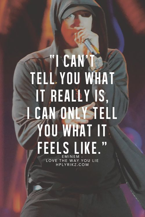 WORDS TO LIVE BY ♥ | Love the Way You Lie - Eminem ft Rihanna