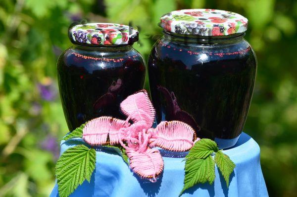 варенье из шелковицы-bobonki