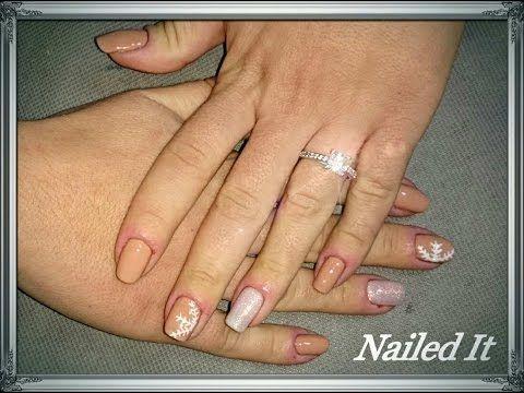 Snowflake Nails (Nailed It) | Easy Nails Tutorial