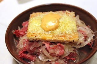 Brothy Reuben Soup instead of Creamy... Delicious (and easy)! I ...