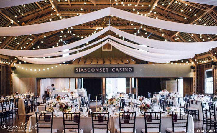 Sconset Casino Wedding - Nantucket Wedding - Soiree Floral - Cambria Grace