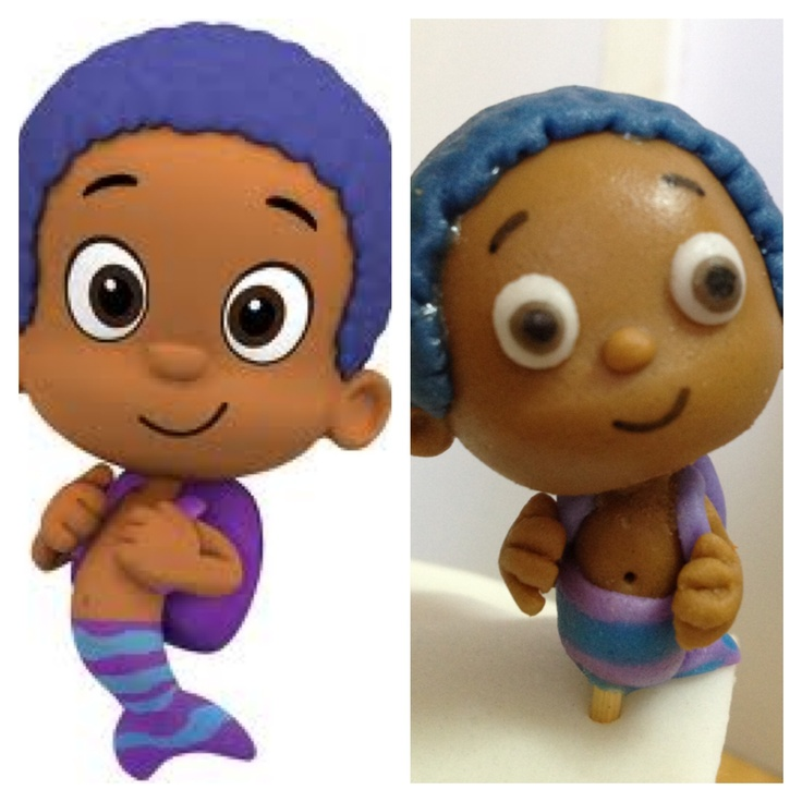 Fondant Goby from Bubble Guppies