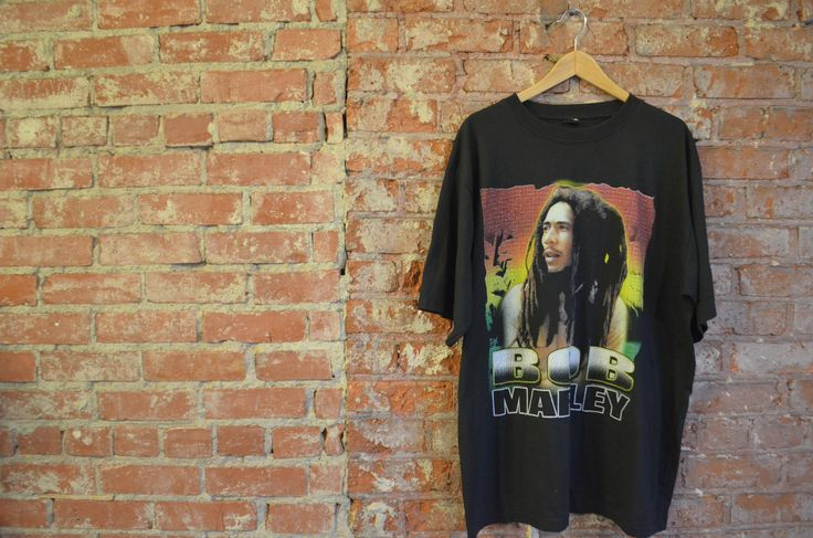 Vintage 90s Bootleg Bob Marley Band Reggae Concert Unisex T-Shirt by ThriftsNKicks on Etsy