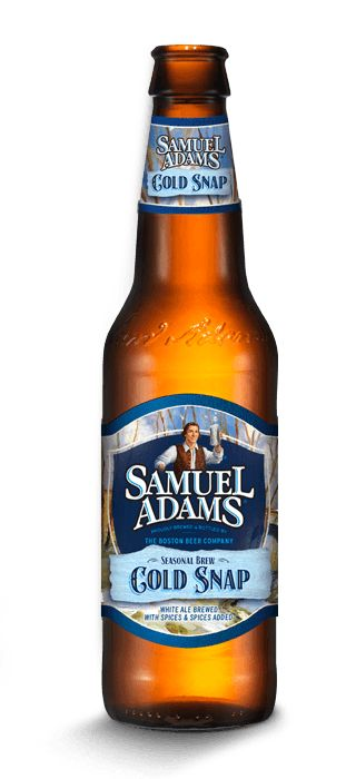 Sam Adams Cold Snap is a 5.3 ABV 10 IBU Witbier.  The appearance is bubbly hazy golden and the nose citrus, plum and spice.  The taste follows with the spice and the fruit and the mouthfeel is crisp.  This is a pretty mellow and easy drinking wheat, reflected in the abv and ibu.  It's alright.