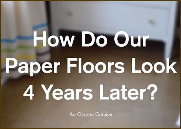 Best 25 paper flooring ideas on pinterest brown bag floors popular brown paper flooring follow up how are they 4 years later solutioingenieria Images