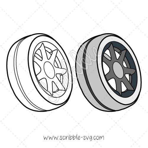 A Car Wheel image for whiteboard animation videos. B&W and color options included. Compatible with Sparkol's Videoscribe, Easy Sketch Pro and Explaindio. Please check the descriptions below to find out more details.    (adsbygoogle = window.adsbygoogle || []).push({});  Note: By clicking on Download, you agree with our terms.