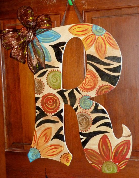 Hey, I found this really awesome Etsy listing at http://www.etsy.com/listing/158640475/large-door-hanger-letters-with-bows-or