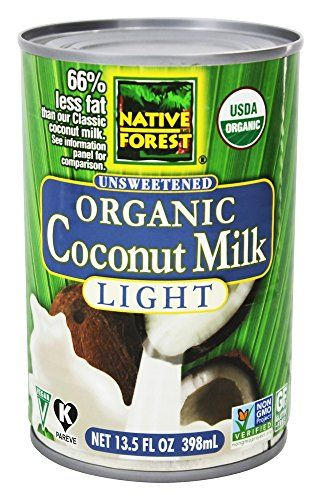 Native Forest - Coconut Milk Light Organic Unsweetened - 13.5 oz (pack of 2) ** You can get additional details at the image link. #CoconutDrinks