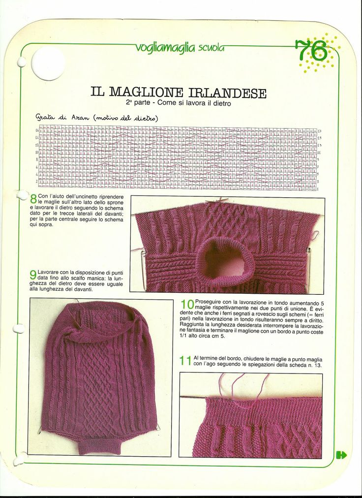 Tecniche di realizzazione:Come fare:calze, guanti,muffole,maglioni Aran