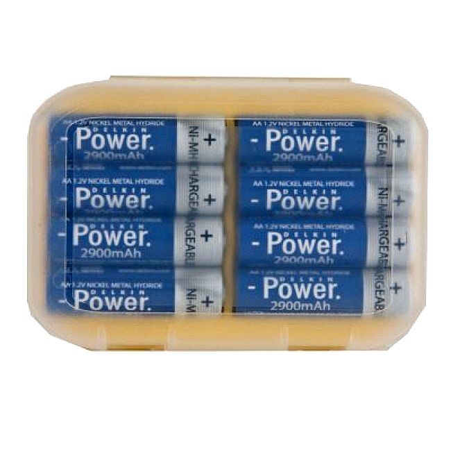 AWESOME 2900mAh batteries! They last and recycle quick quick!