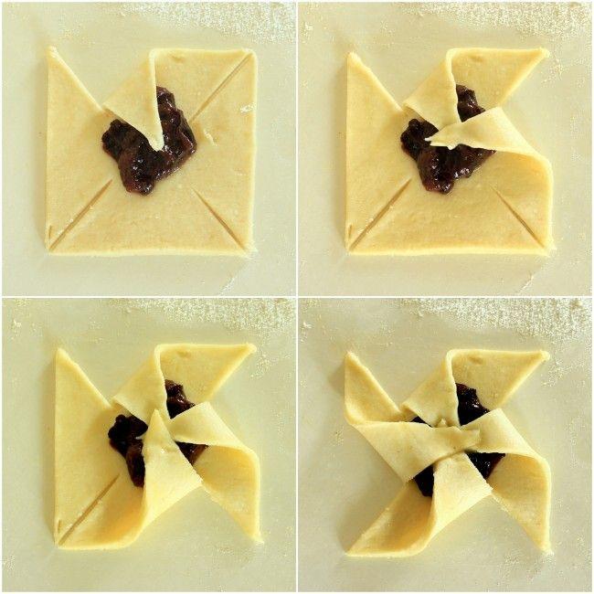 Homemade Joulutorttu - Finnish Christmas jam tarts, with recipe and instructions